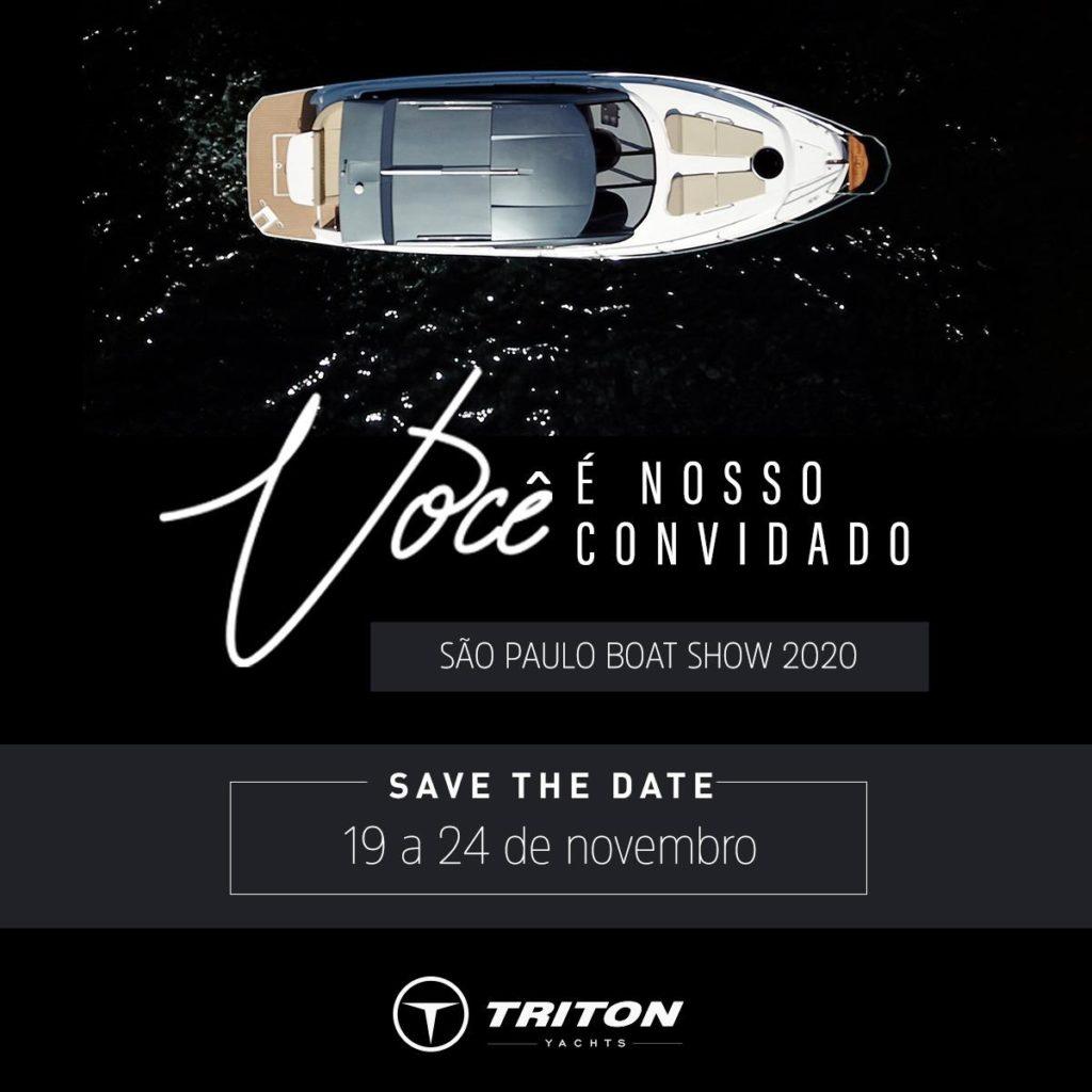 TRITON YACHTS no São Paulo Boat Show 2020